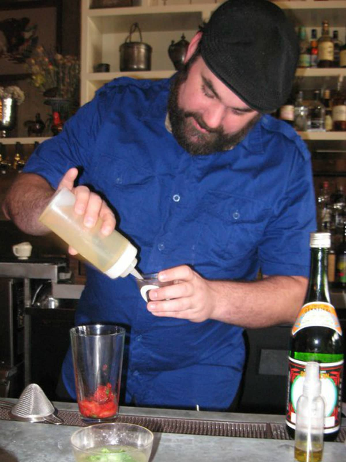Bill Hankey_King Bee Lounge_cocktail_2011