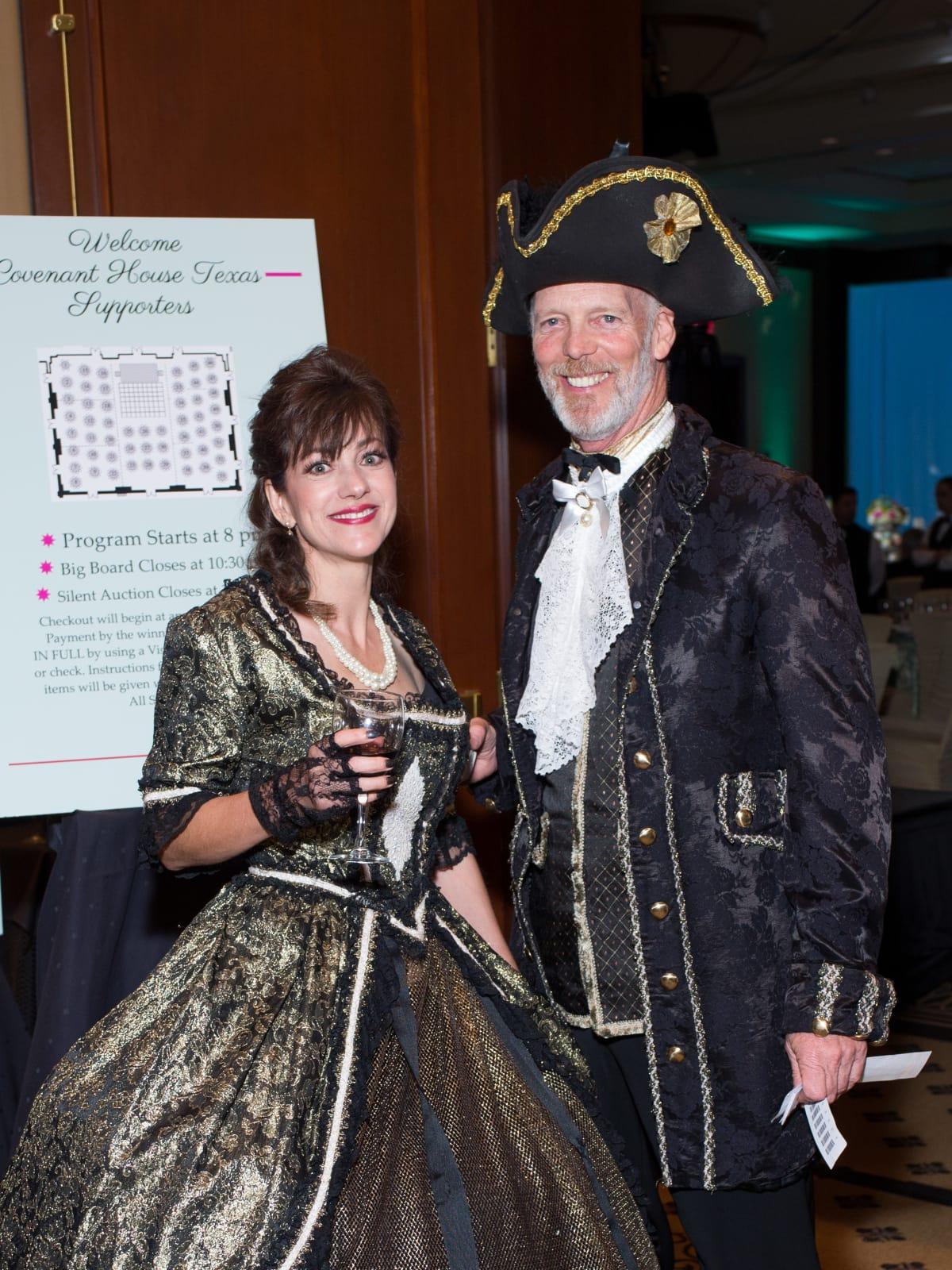 Susan McCommon, Fallon Eagan at Covenant House Gala 2017