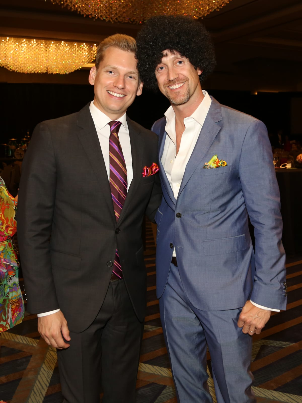 Houston Area Women's Center Gala,   Kyle Dutton and Mike Mahlstedt