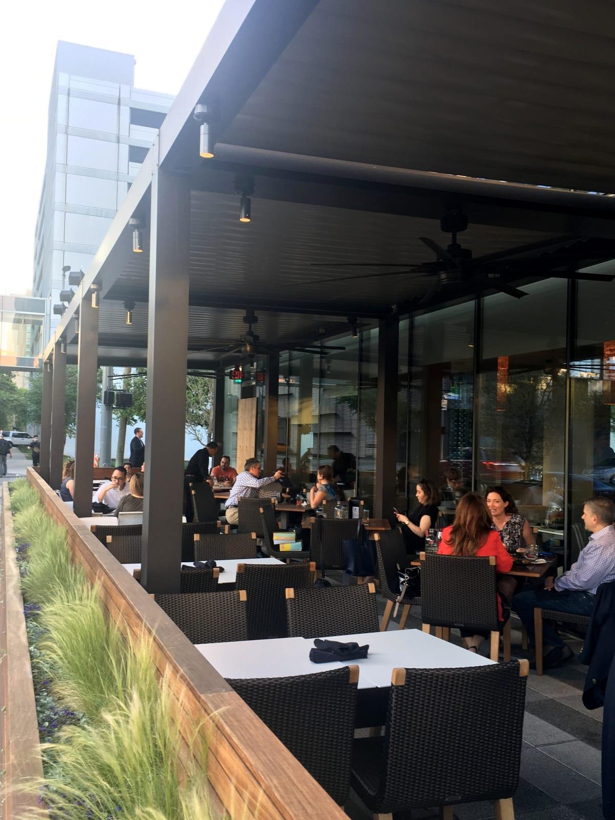 Houston, new patios, April 2017, Xochi