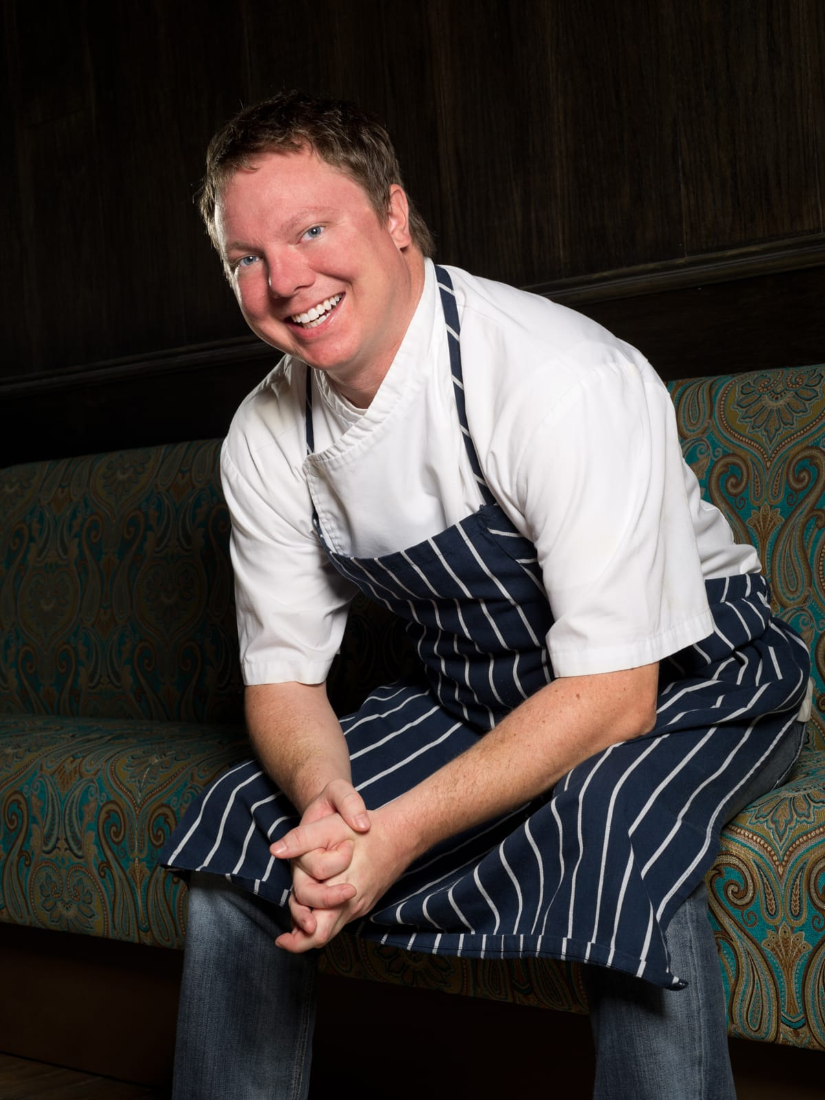 Chef Ben McPherson head shot
