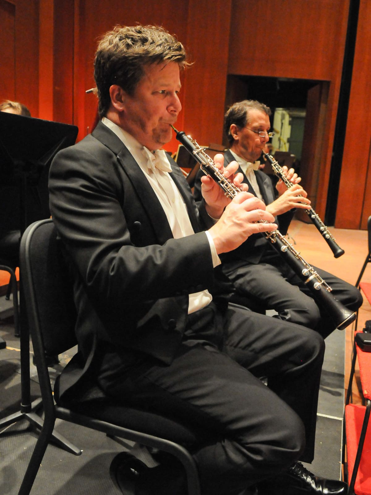 Jonathan Fischer, Houston Symphony, oboe, September 2012