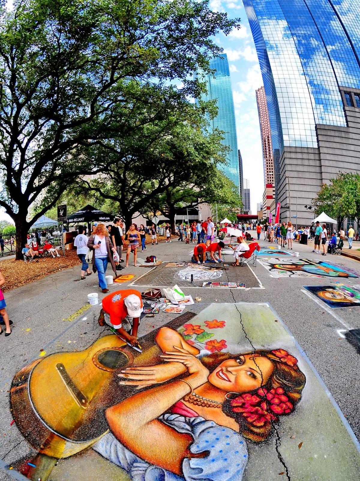 Via Colori Street Painting Festival