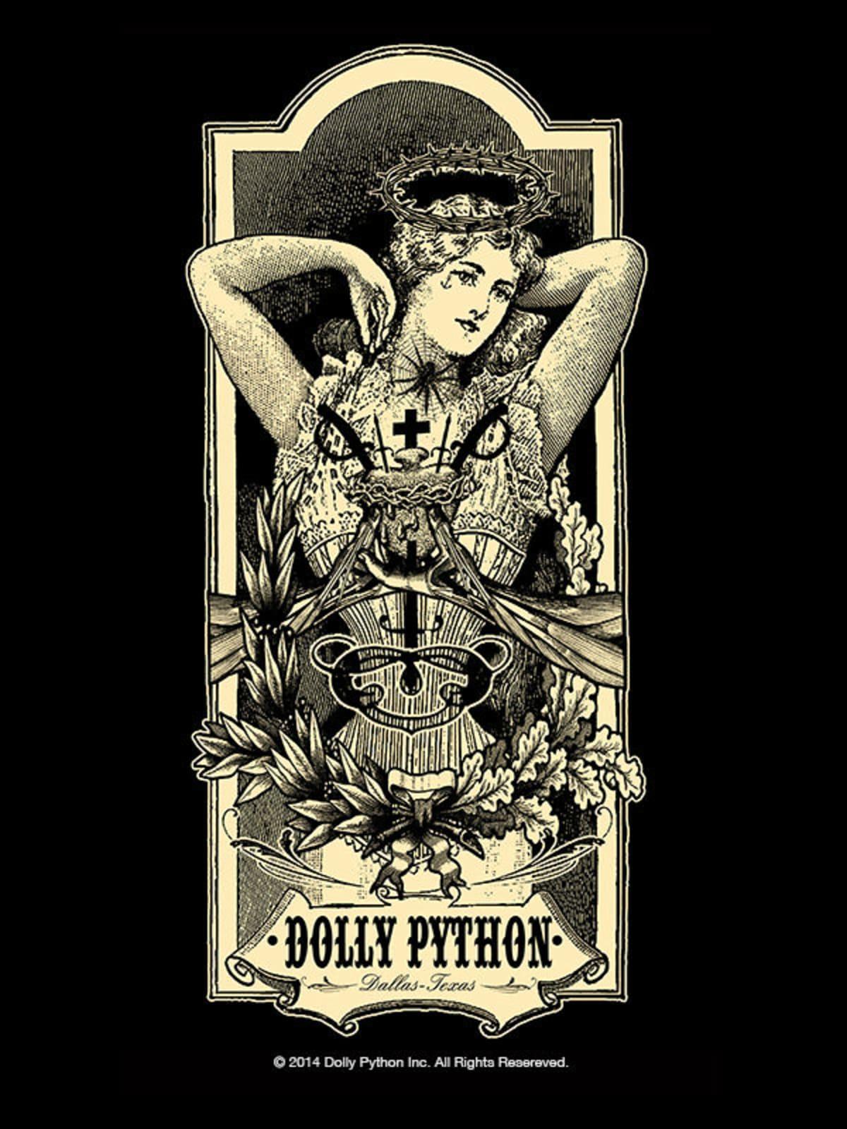 Ramon Maiden T-shirt at Dolly Python