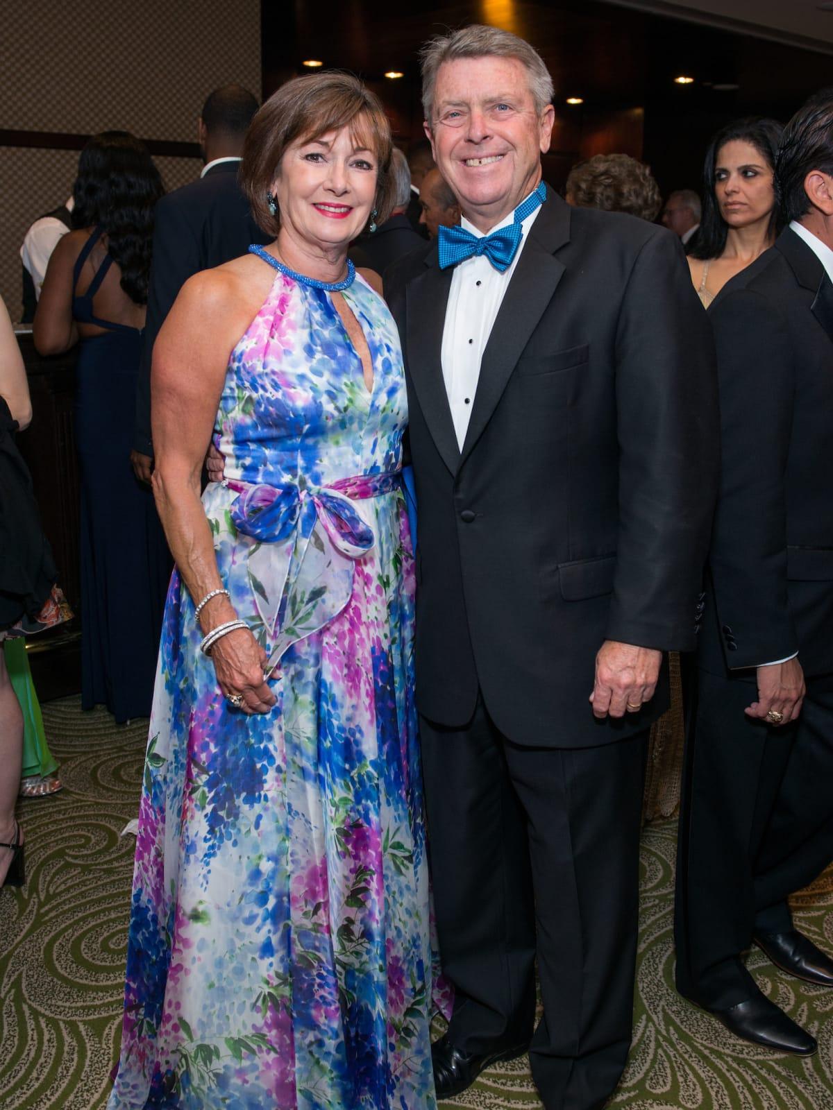 Cathy and Joe Cleary at Memorial Hermann Gala