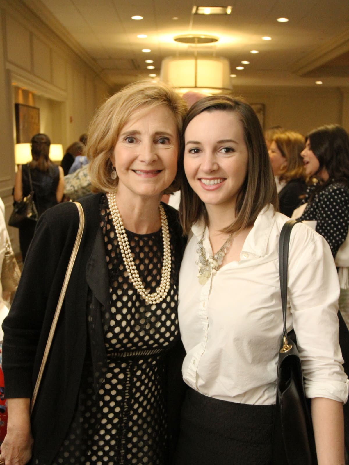 Pam Erwin, Brittany Lawnin at Menninger Clinic luncheon
