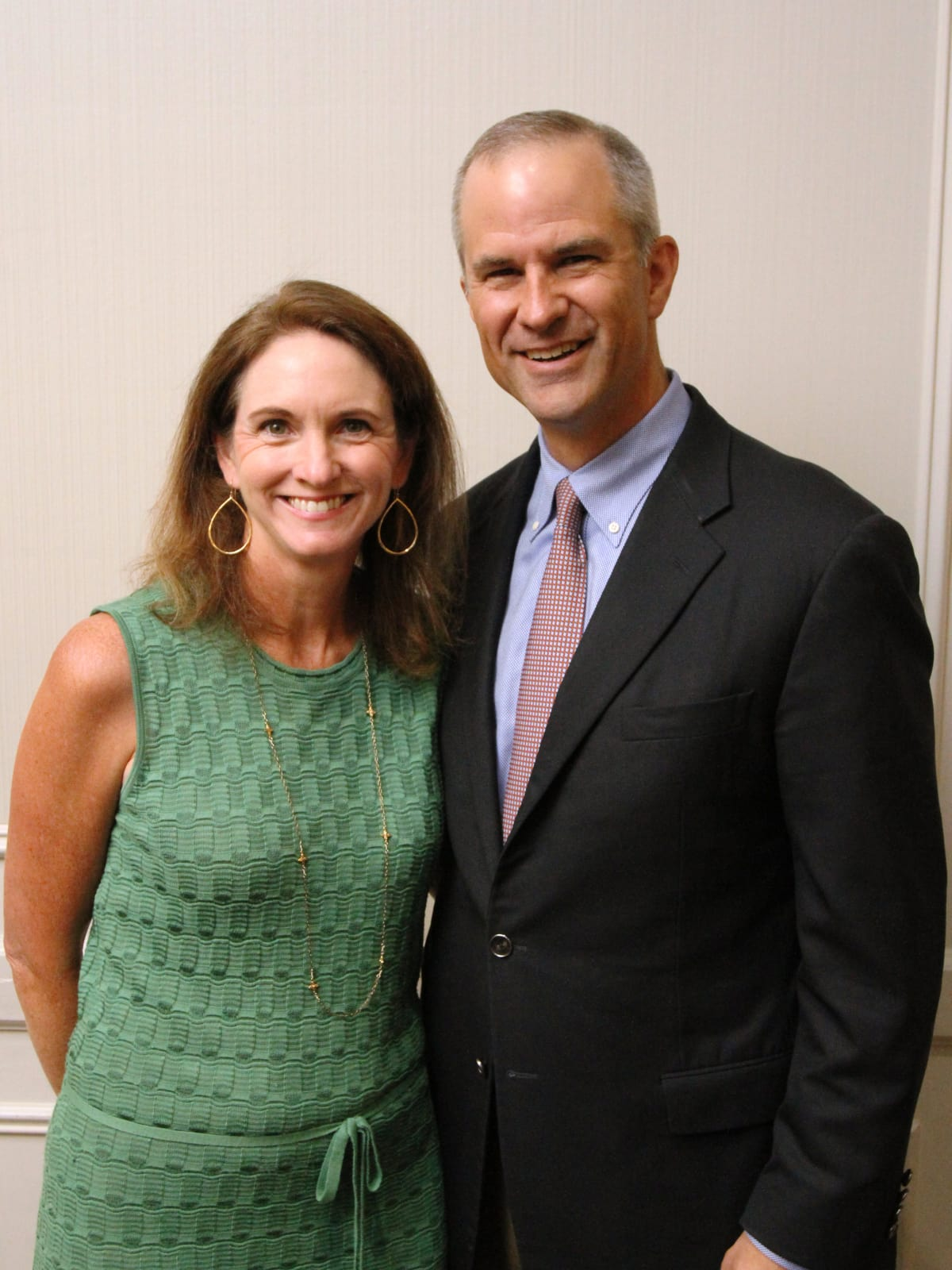 Kitty and Steve Oldham at Menninger Clinic luncheon