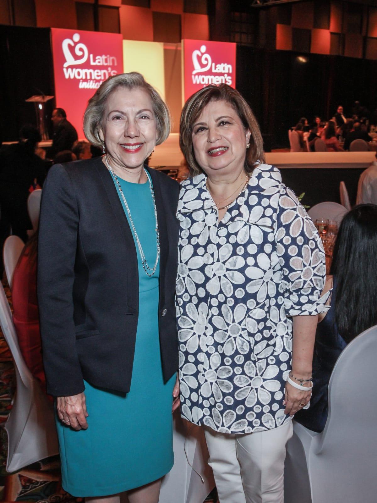 Latin Women's Initiative Luncheon, Elva Flores and Leticia Fallick