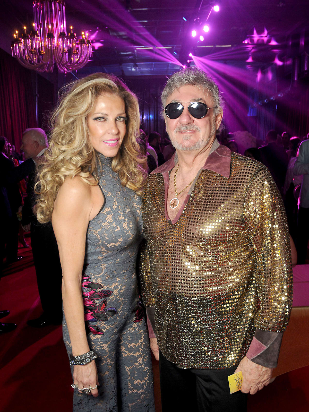 Susana Brener de Stern and Dr. Juan Stern at the Alley Theatre Ball