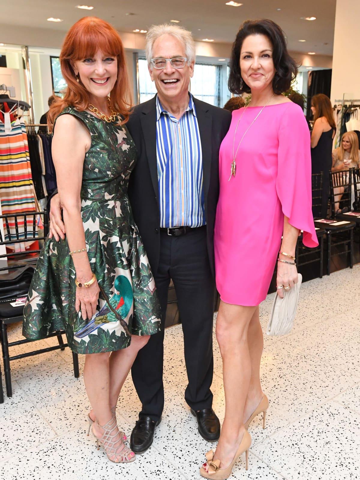 Fashion Gene Event, 5/16  Gracie Cavnar, Mickey Rosmarin, Jessica Rossman