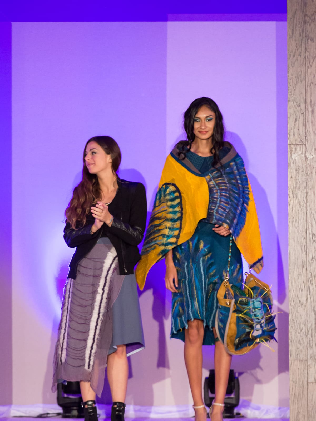 For The Sake of Art, Andrea Giralt Brun yarn dress