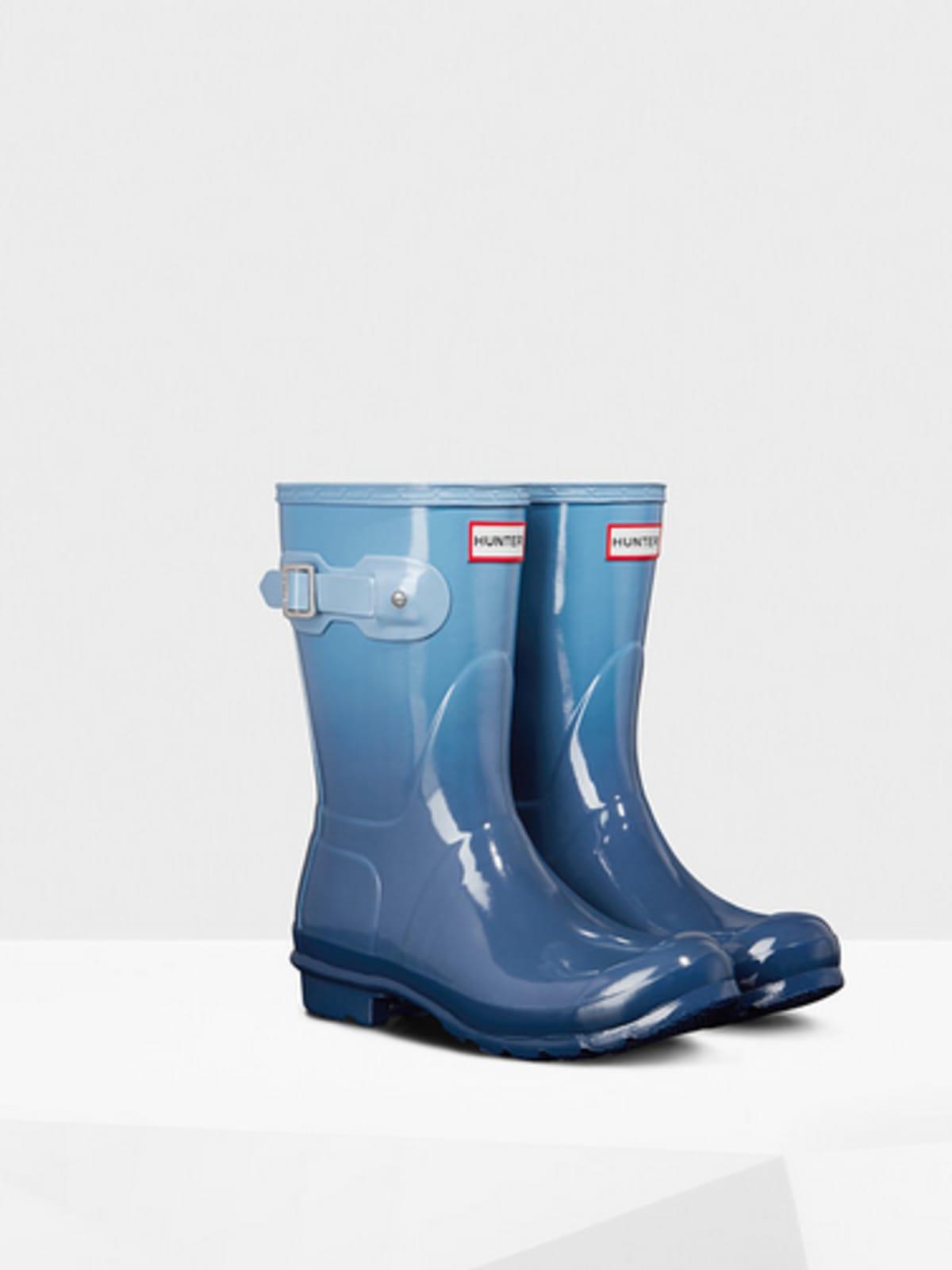 Hunter women's original short color haze rain boots$165