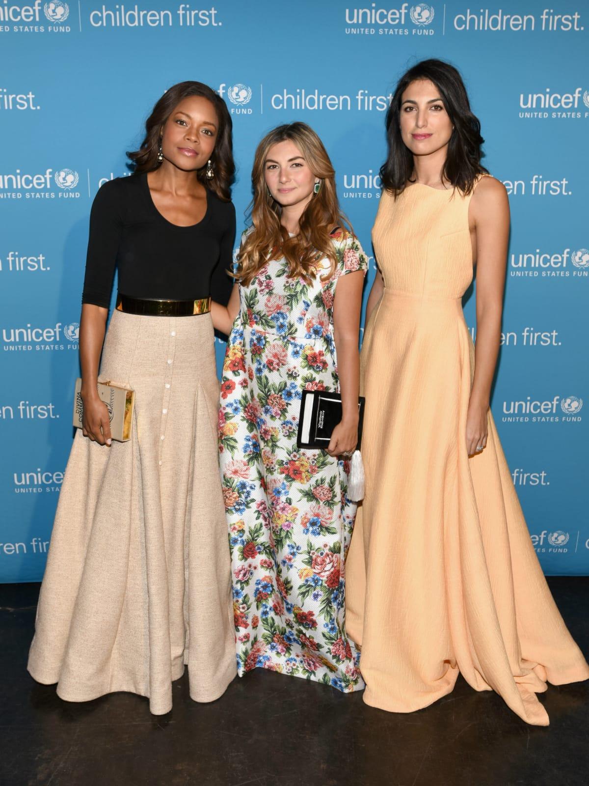 Actress Naomie Harris, Nasiba Adilova, Federica Fanari