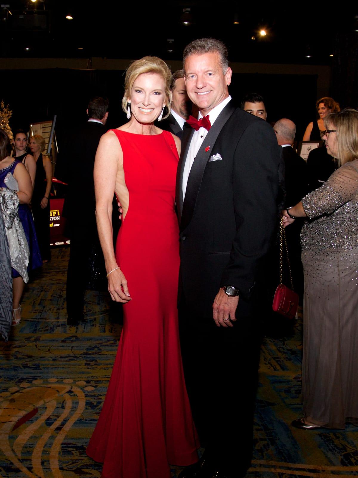 Montgomery County Heart Ball, Feb. 2016, Diane Kink, Bruce Kink