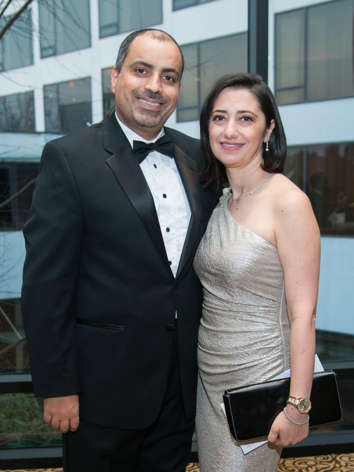 Komen Foundation 25th Gala, Feb. 2016, Dr. Mothaffar, Lara Rimawi