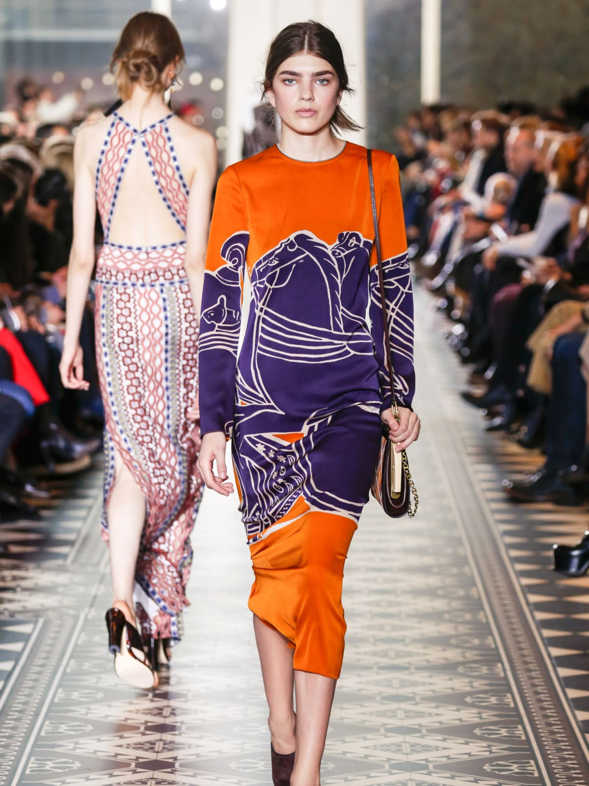 Tory Burch fall 2016 collection Look 40