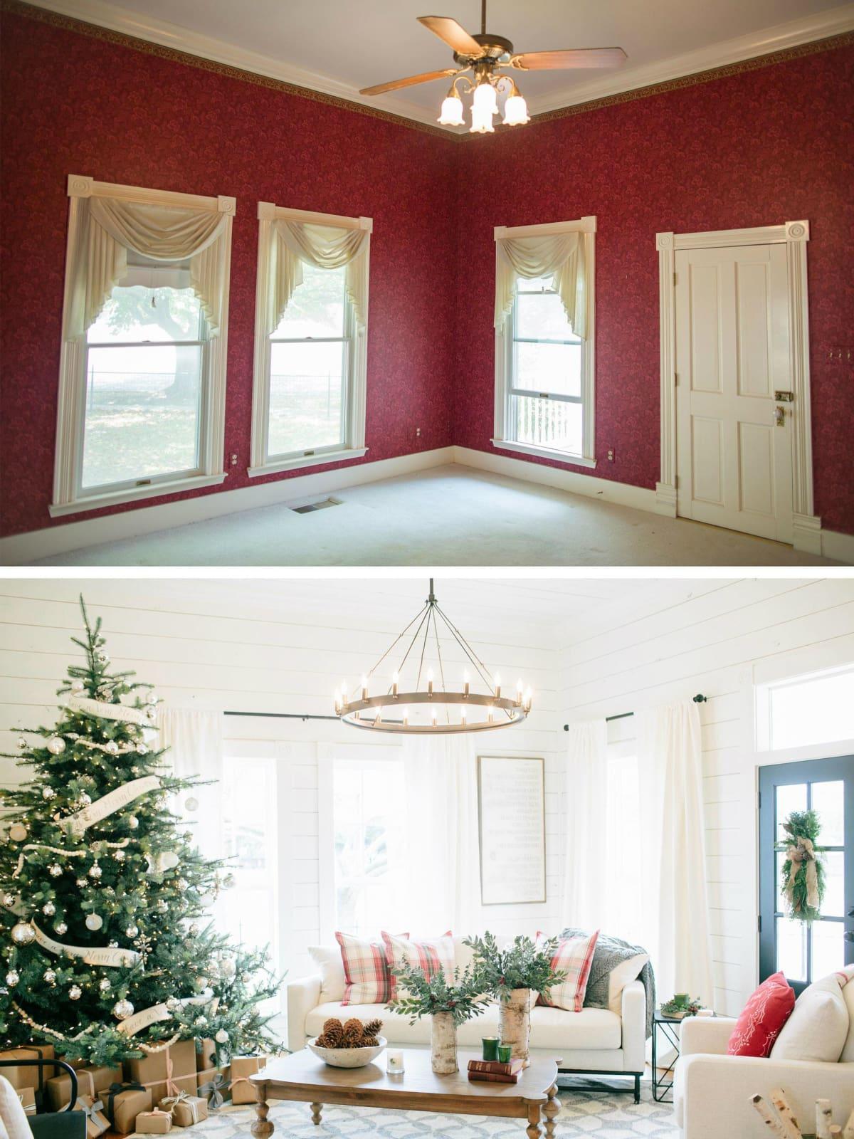 Magnolia House living room