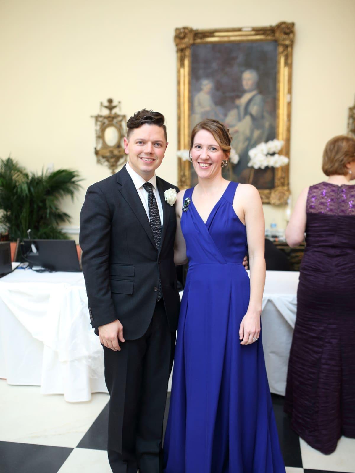 Know Autism Gala, Feb. 2016, David Peck, Michelle Phillips
