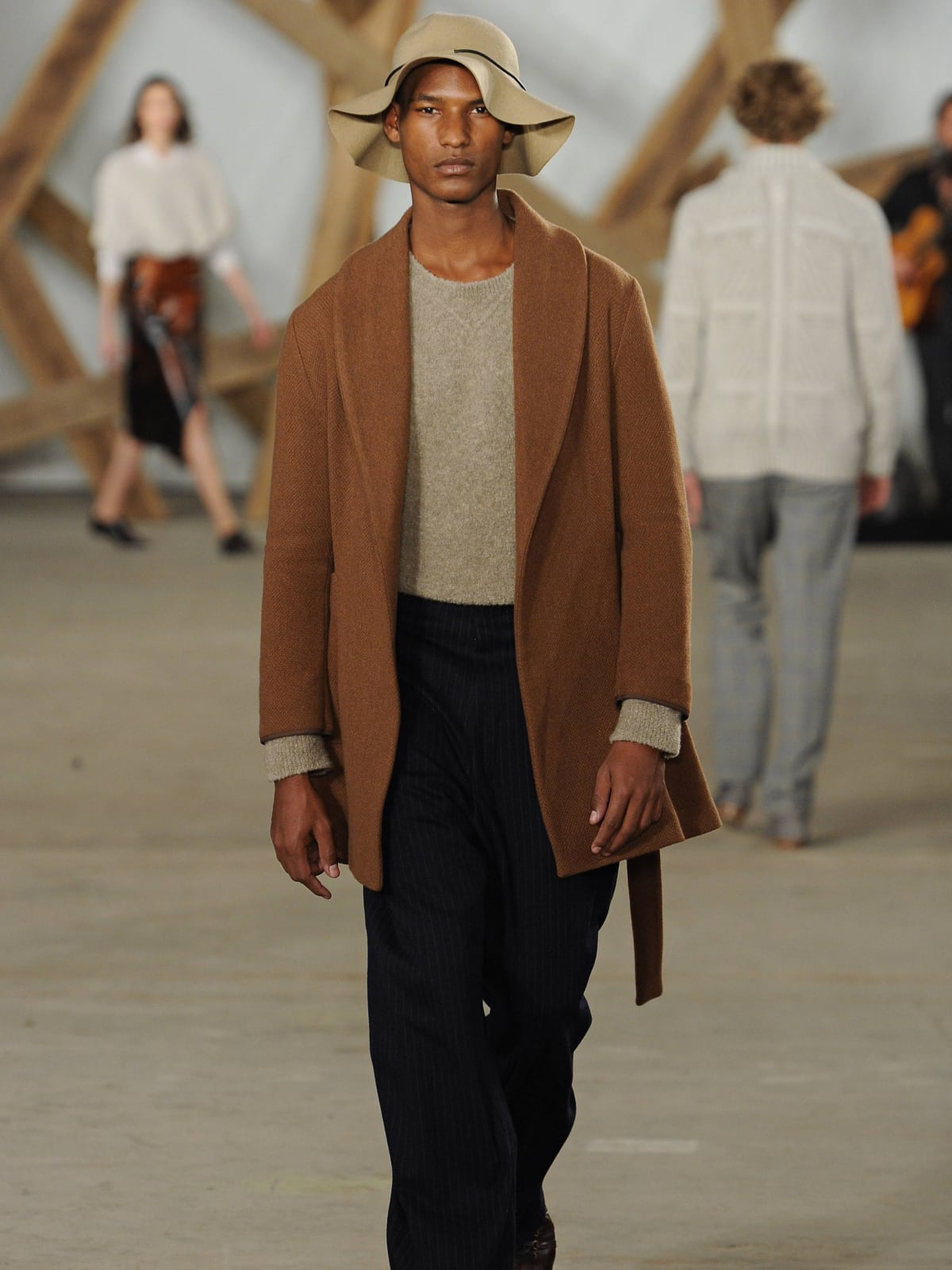 Billy Reid Look 3 fall 2016 collection