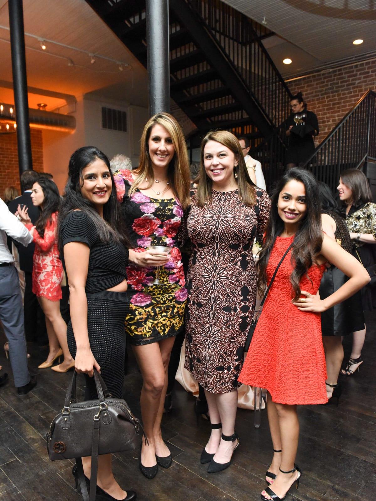 A Couture Cause Kashmira Wadekar, Mahsa Tajipour, Dede King, Pooja Ashar