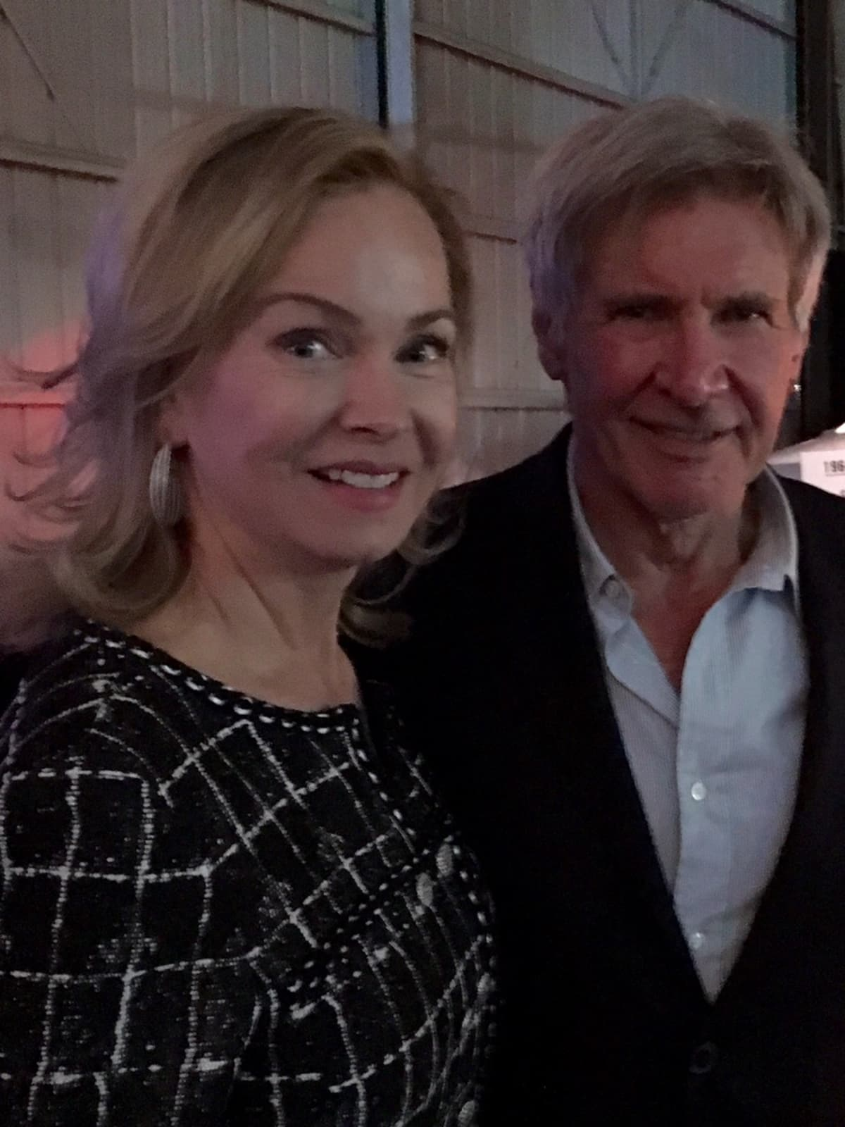 Living Legends of Aviation, Jan. 2016, 2, Alice Mosing, Harrison Ford