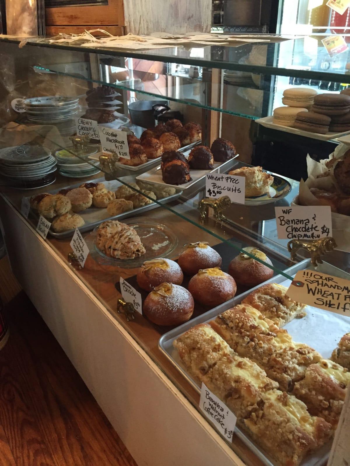 Jane & John Dough pastry case Tomball bakery