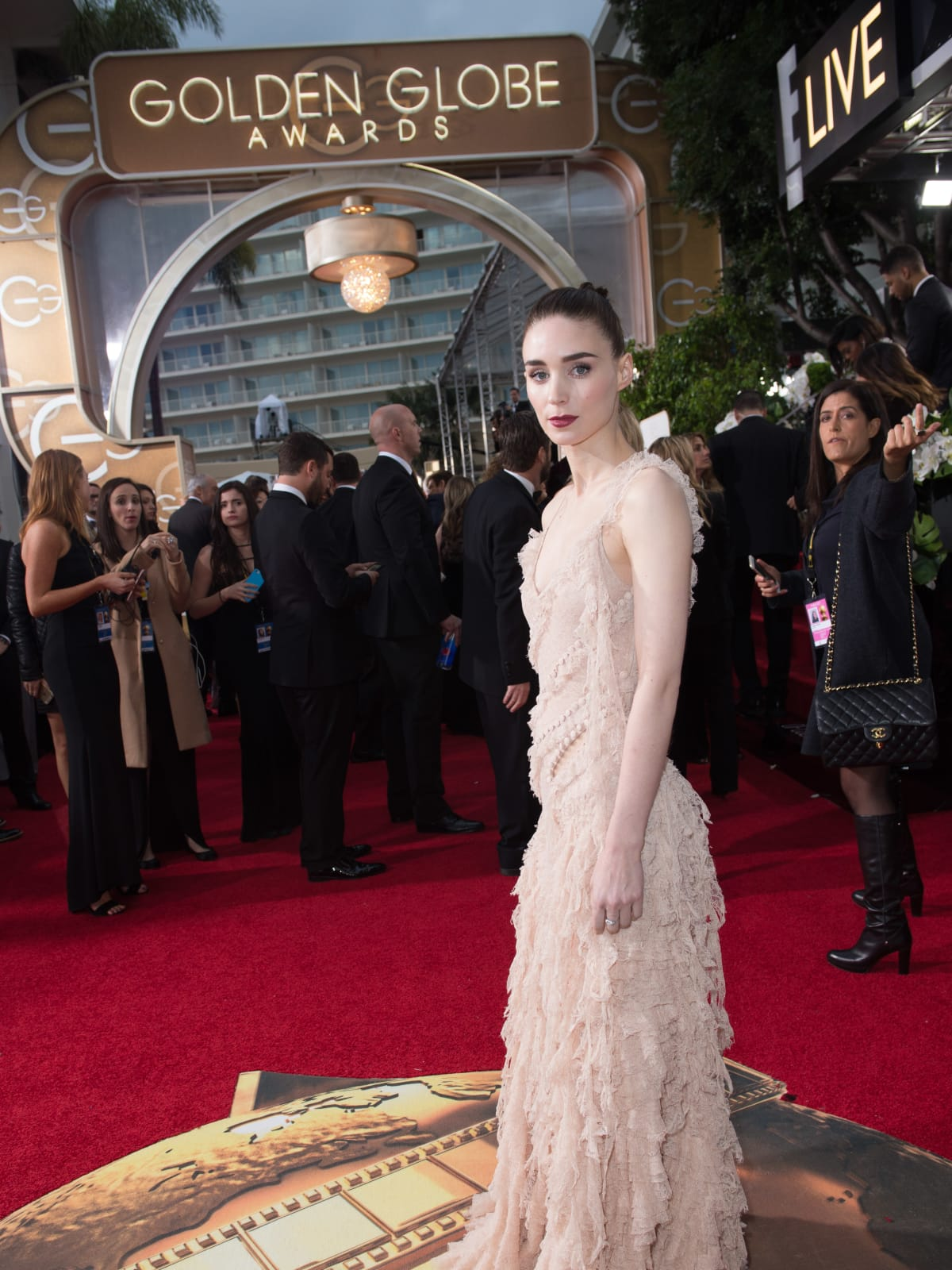 Rooney Mara at Golden Globe Awards