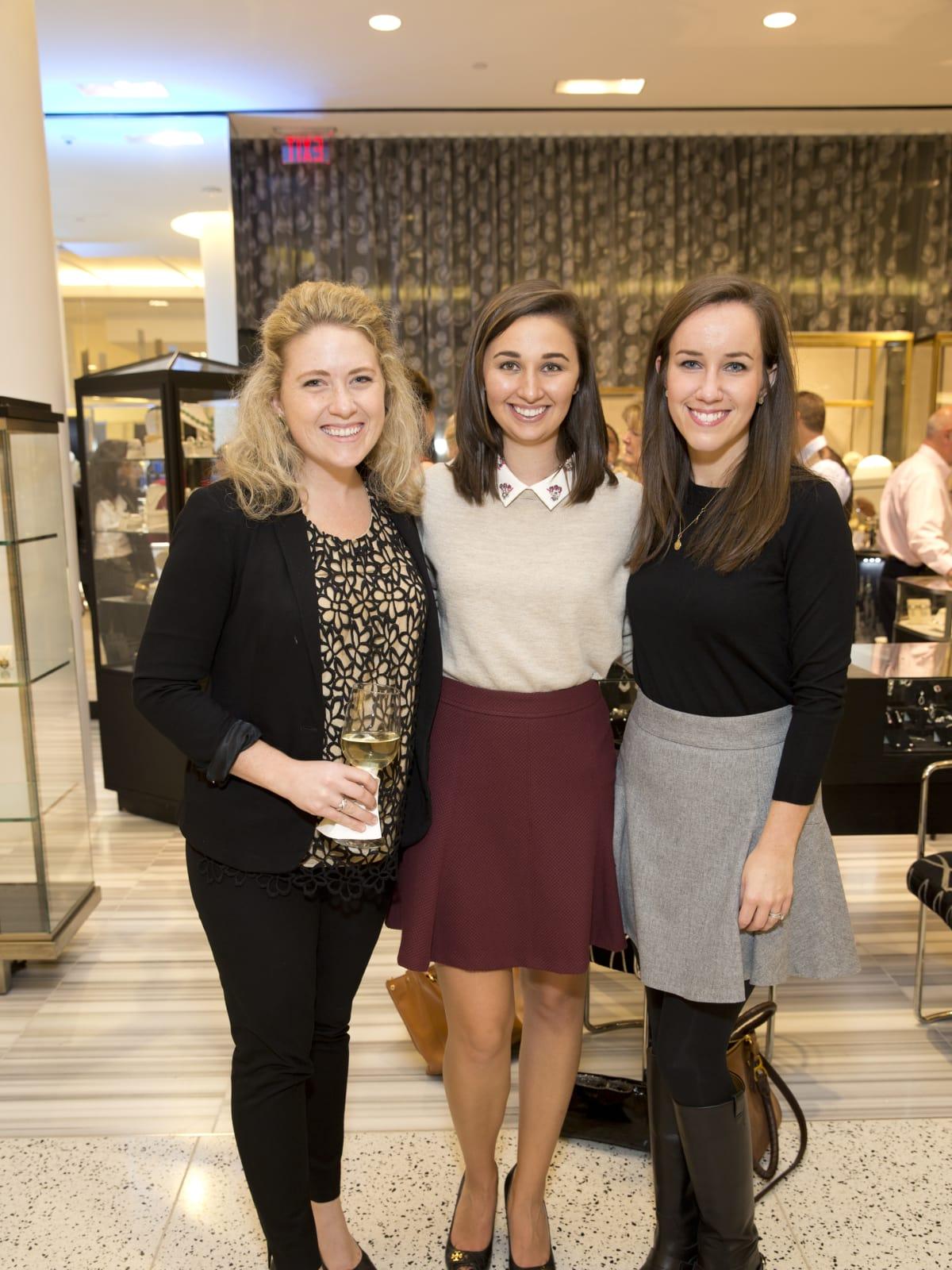 News, Tenenbaum at Tootsies, Dec. 2015, Fay Fitzsimons, Allyson Camp, Elise Swann