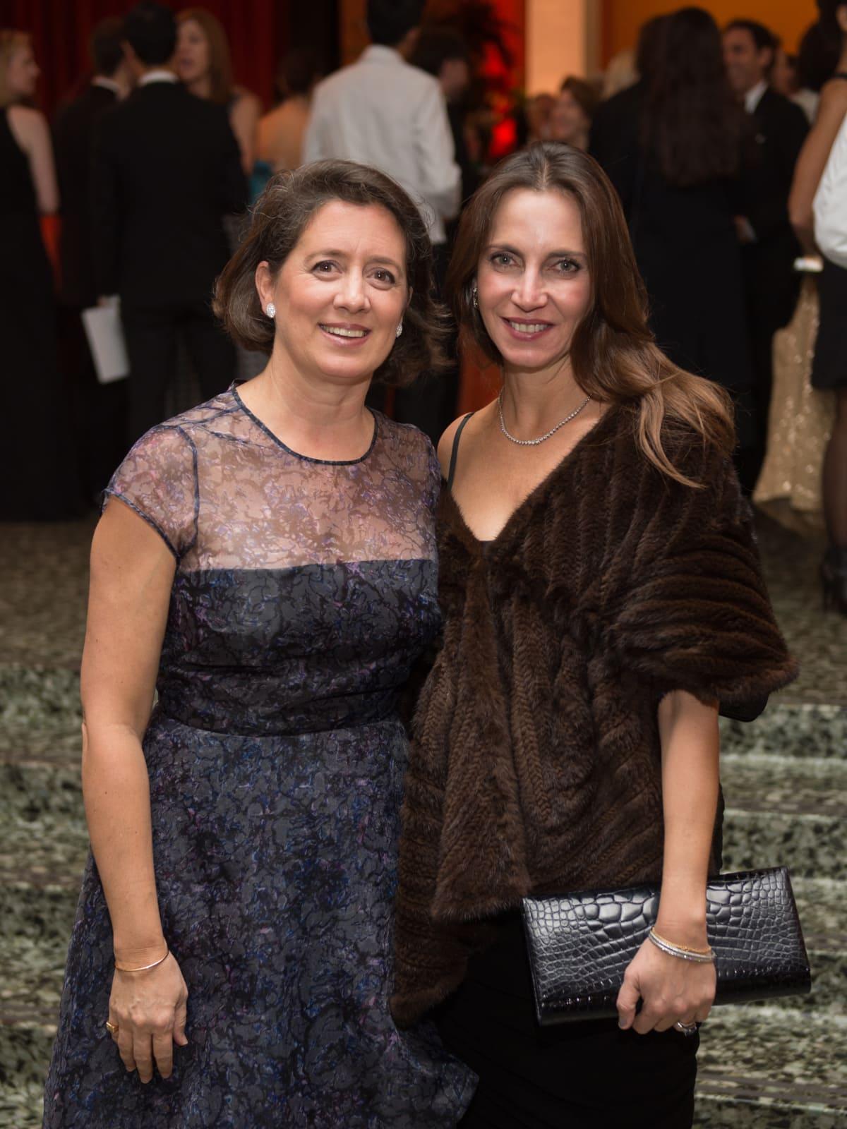 News, MFAH Latin Experience, Nov. 2015 Maria Bonta de la Pezuela, Aliyya Stude