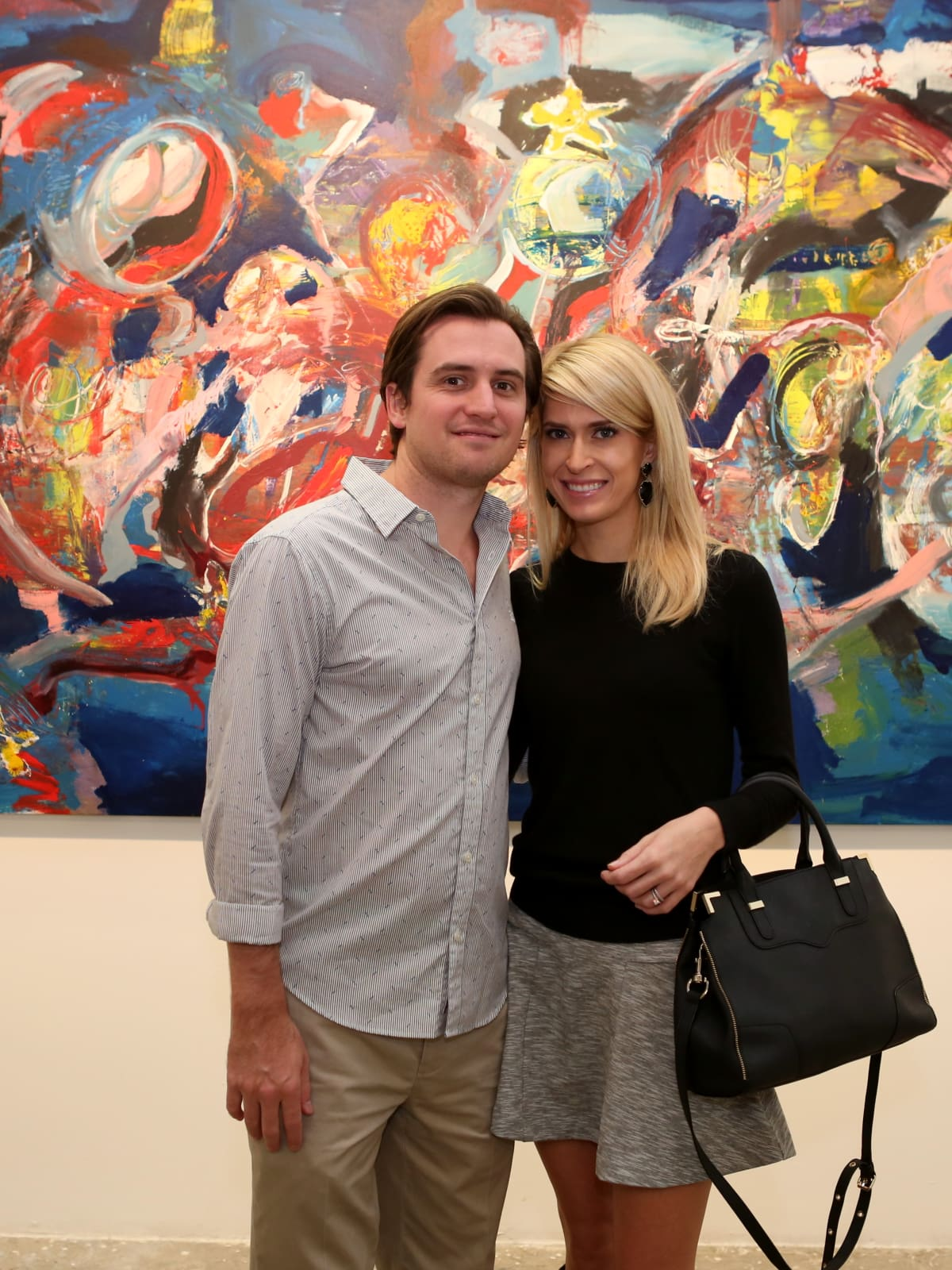 Chris and Kendall Hanno at Art on the Avenue