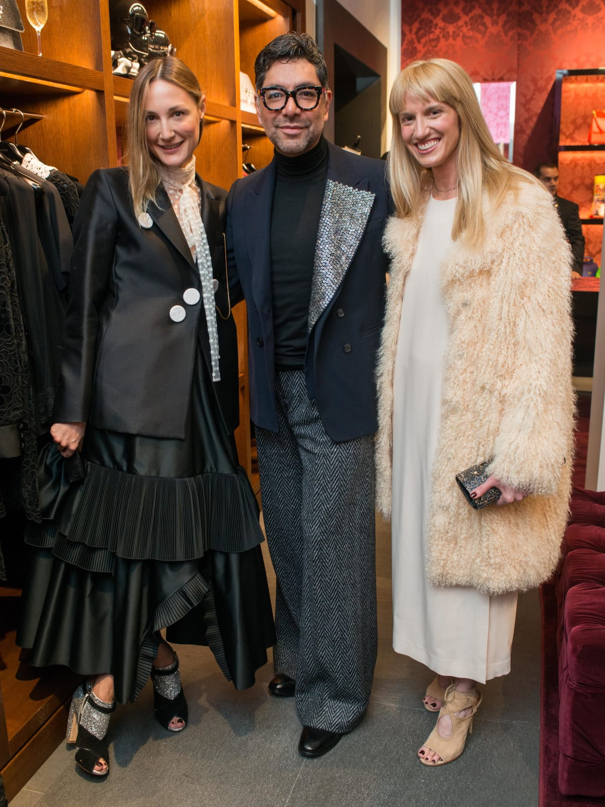 News, Shelby, Dolce & Gabbana dinner, Nov. 2015, Tatiana Massey, Ceron, Chris Goins