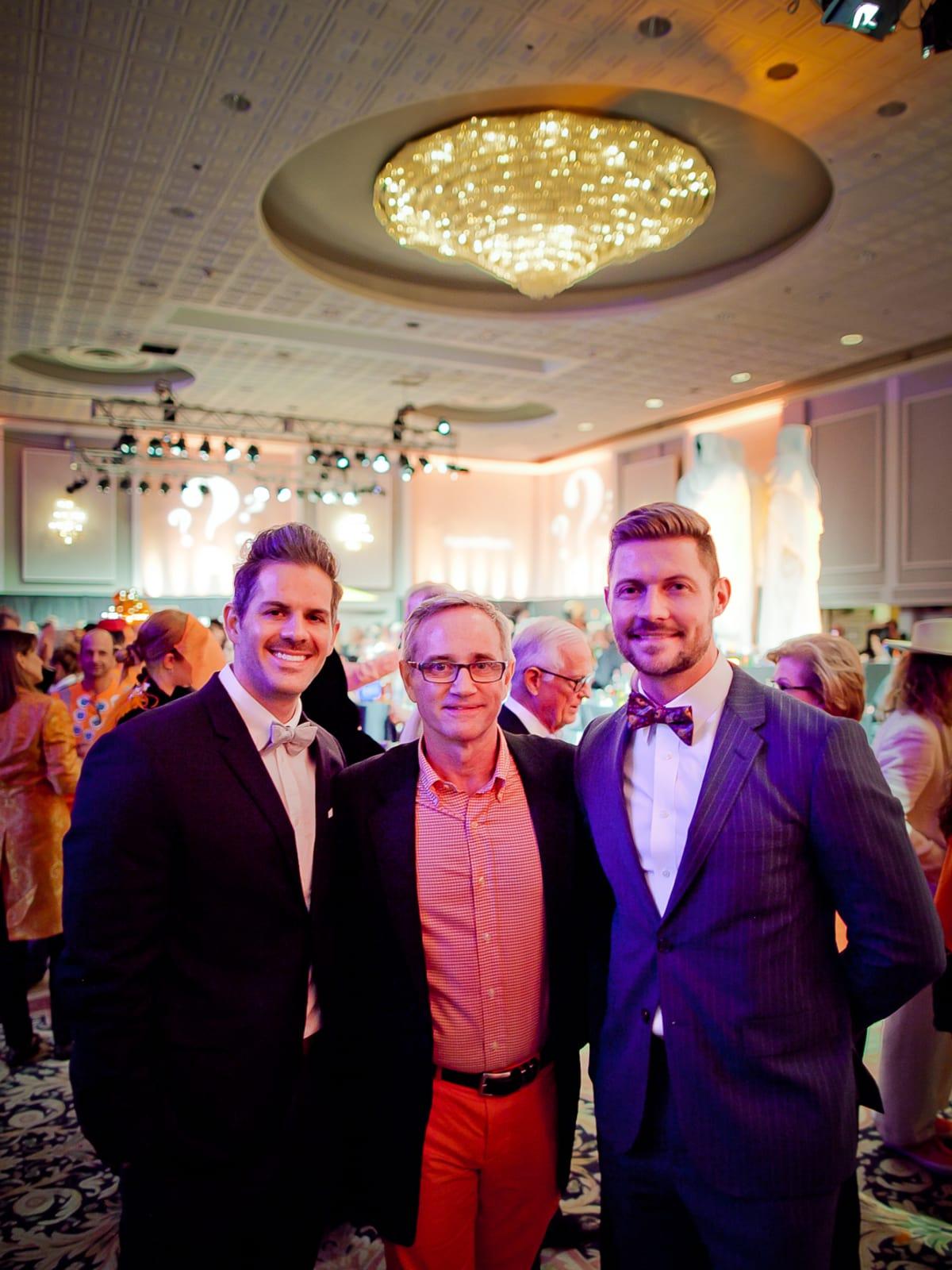 Orange Show Gala Eric Turner, Wayne Blosat, Morné Coetzer