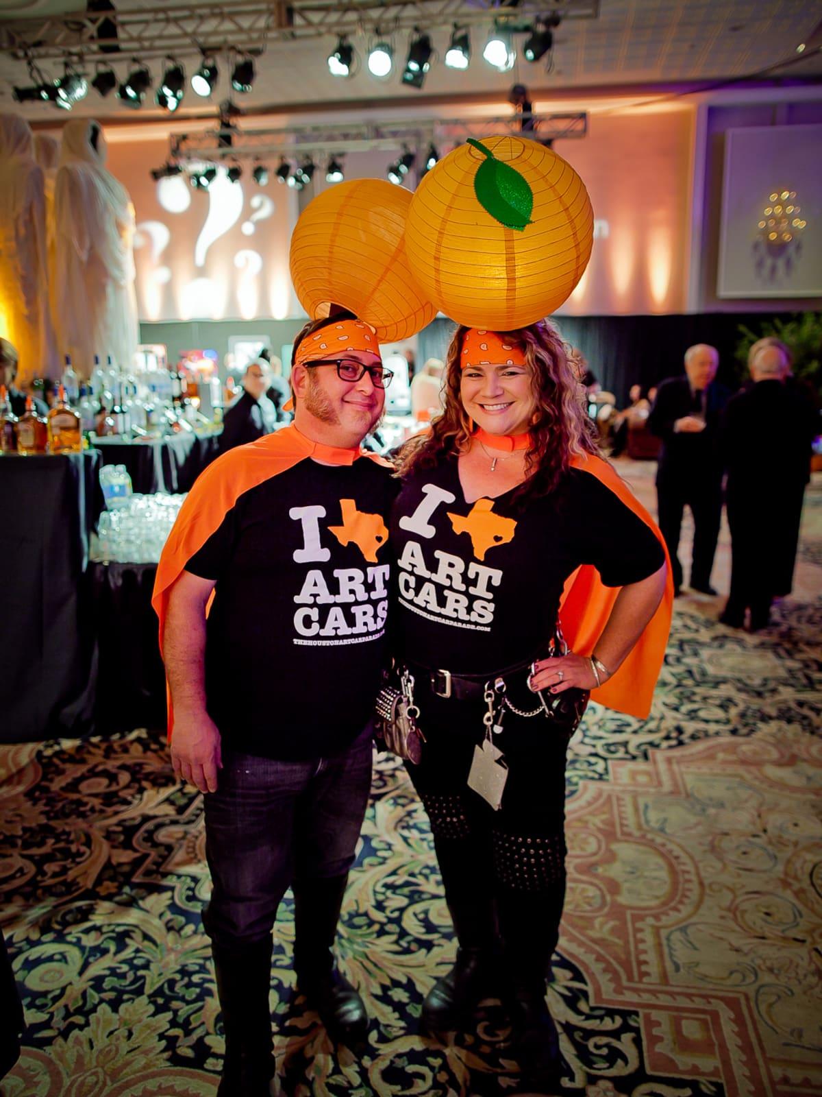 Orange Show Gala Ben Gibson, Nichole Strine