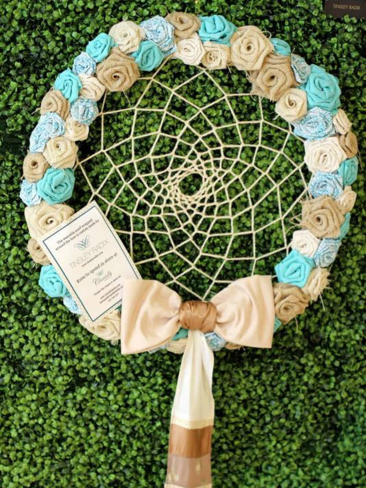 Tinsley Radix wreath at DIFFA 2014