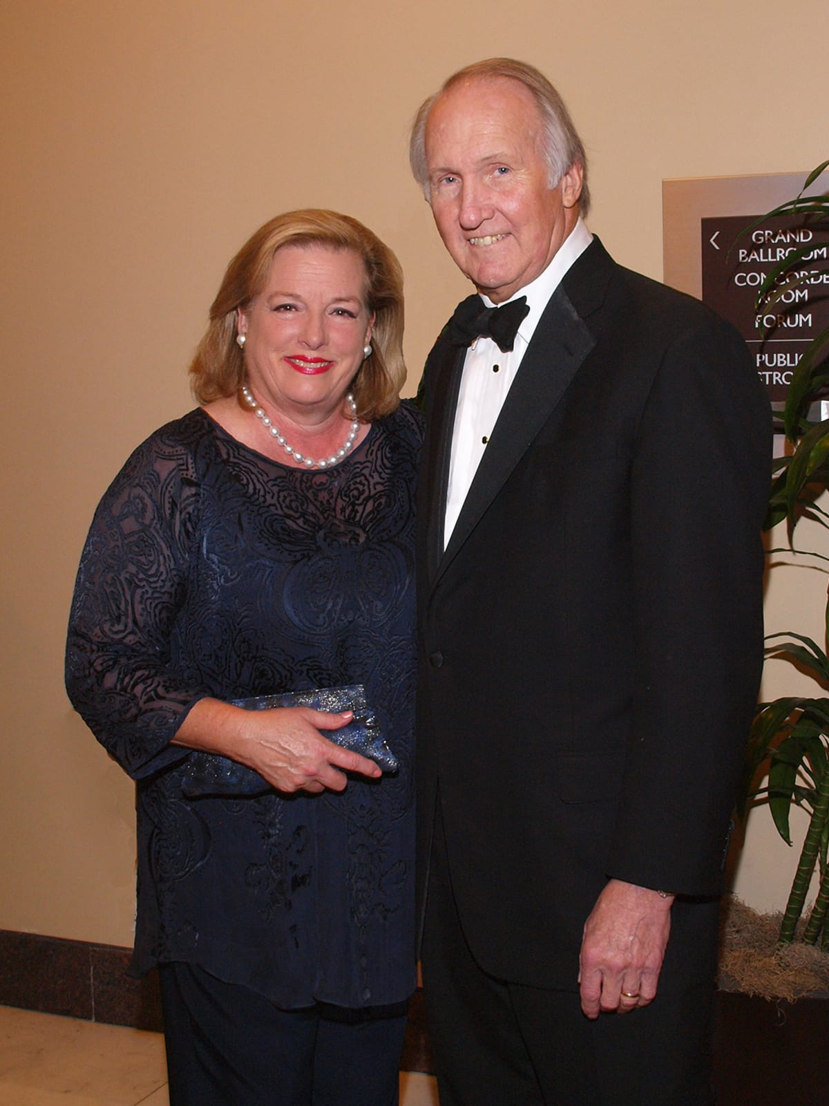 Welch Foundation banquet Molly Crownover, Jim Crownover