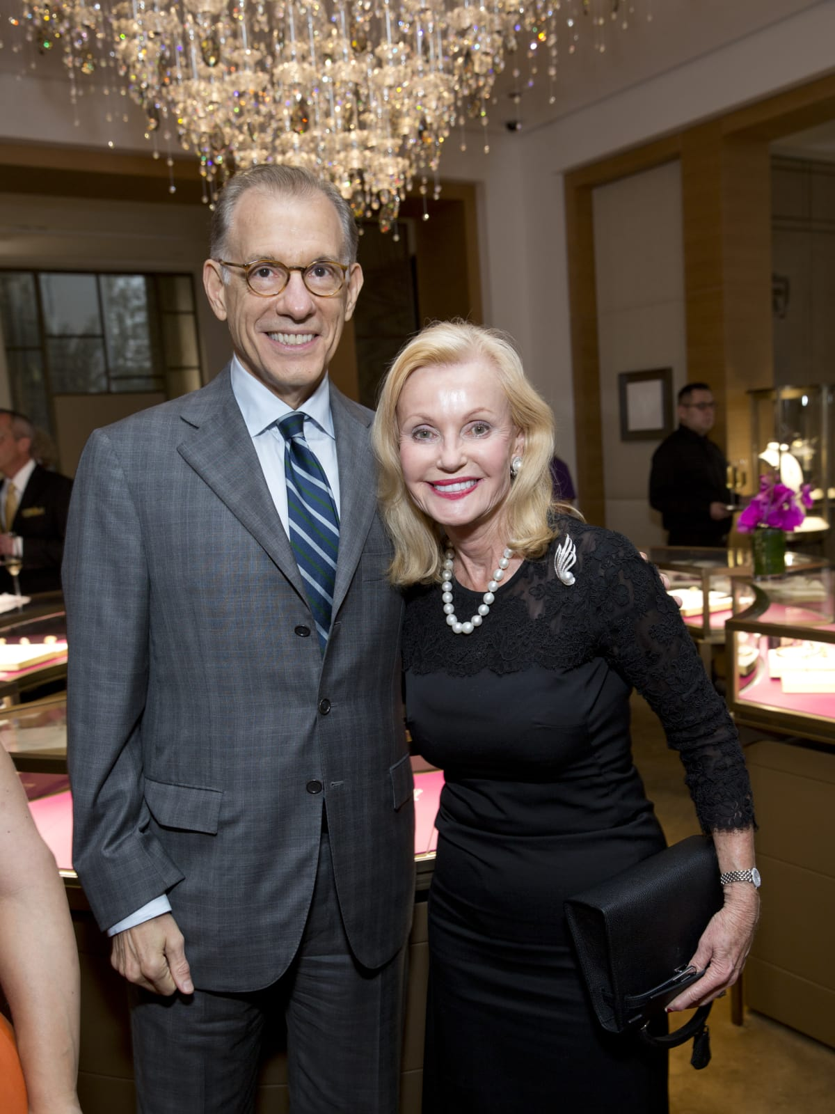 News, Shelby, Cartier Opening, oct. 2015, Gary Tinterow, Pat Breen