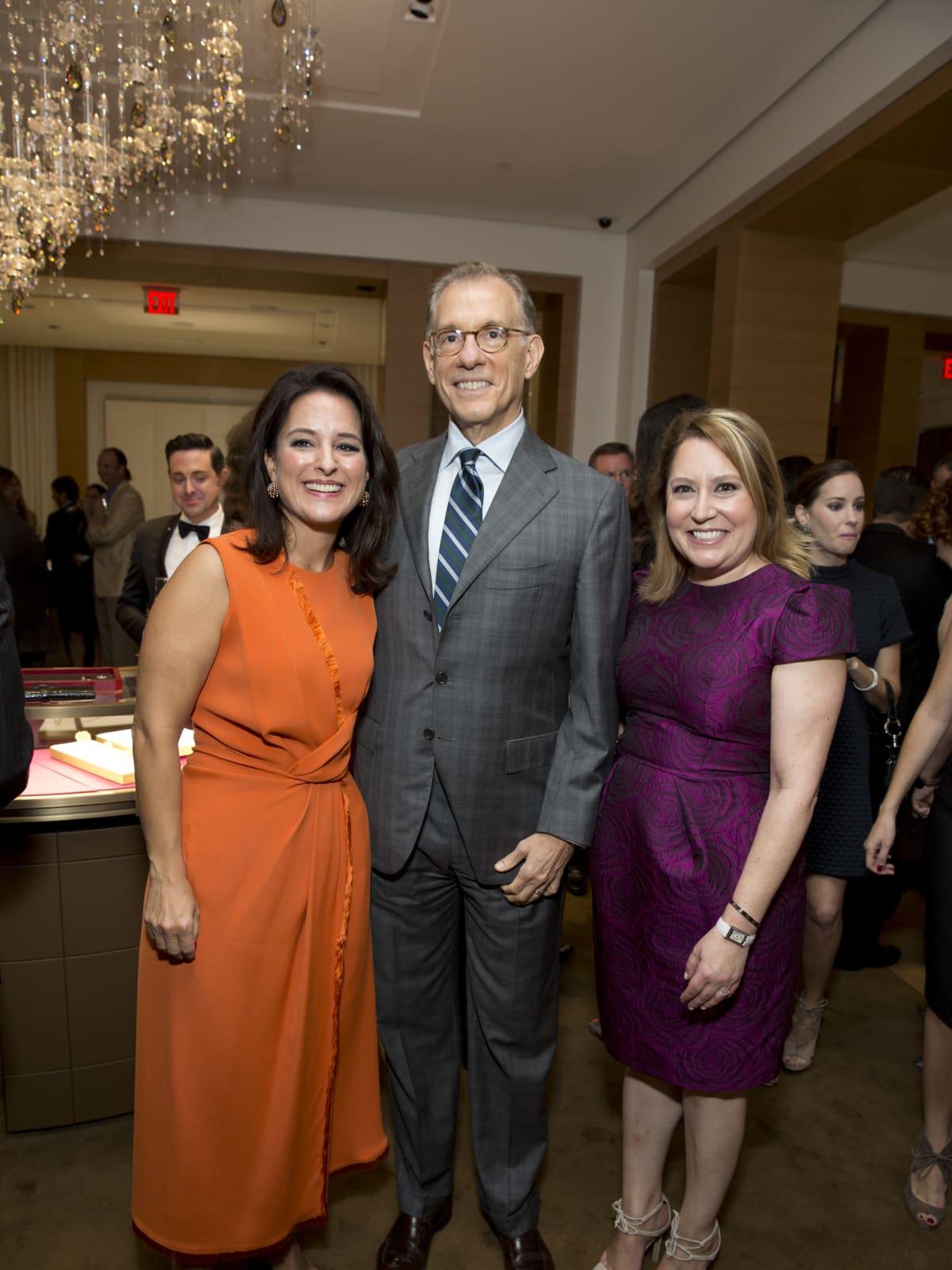 News, Shelby, Cartier opening, Oct. 2015, Mercedes Abramo, Gary Tinterow, Kari Gonzales