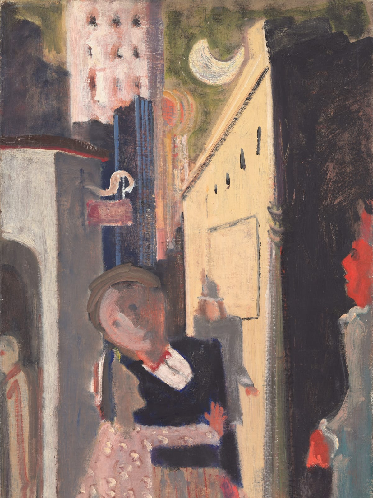 Mark Rothko Retrospective: Street Scene