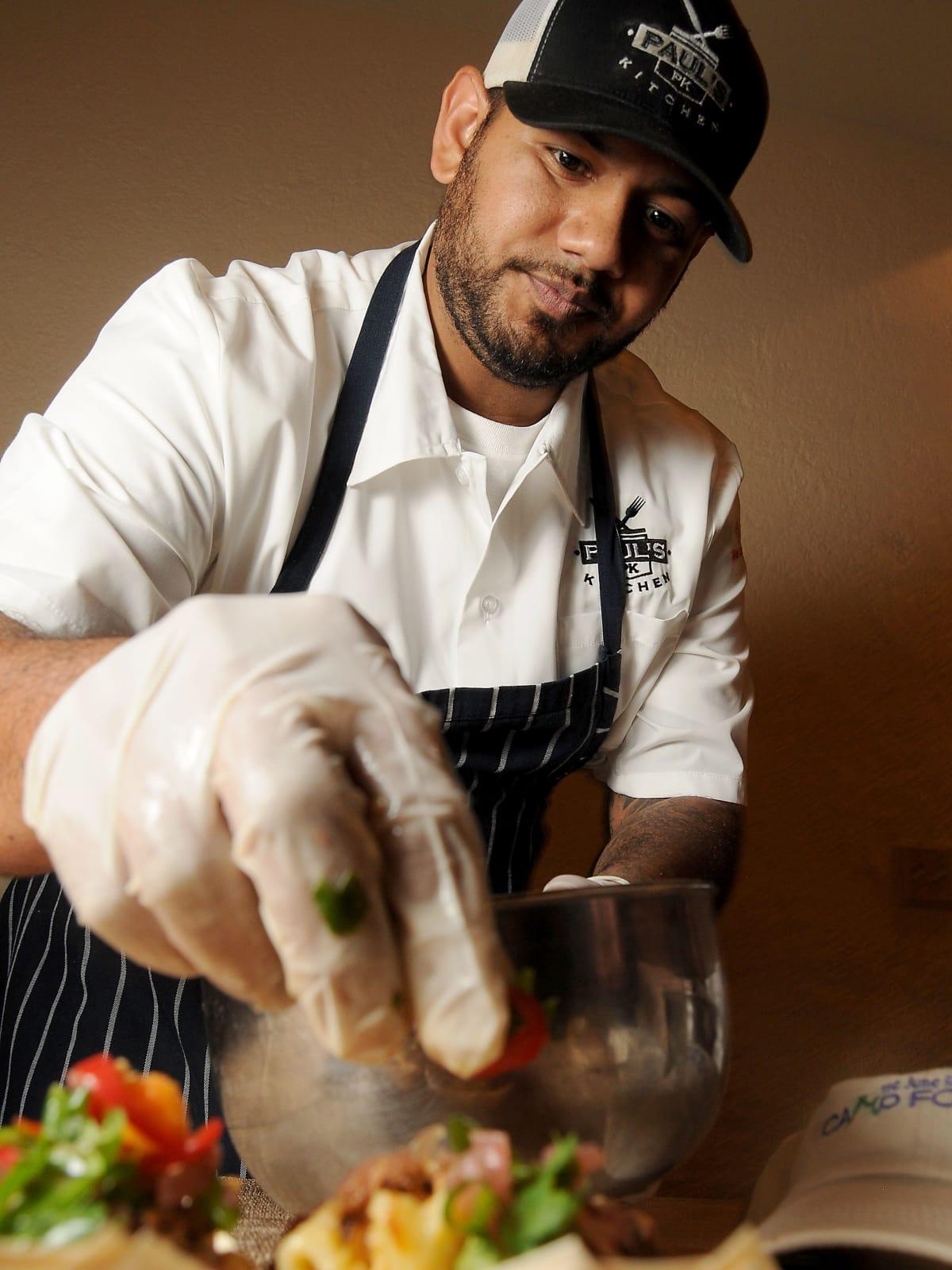 News, Shelby, Camp for All Camp Culinary, Sept. 2015, Cesar Munoz