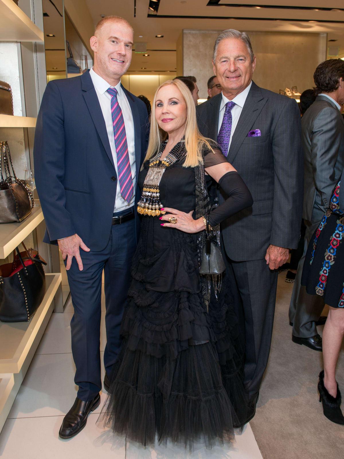News, Shelby, Heart of Fashion, Valentino, Sept. 2015, Gary Soloff, Carolyn Farb, Charles Ward