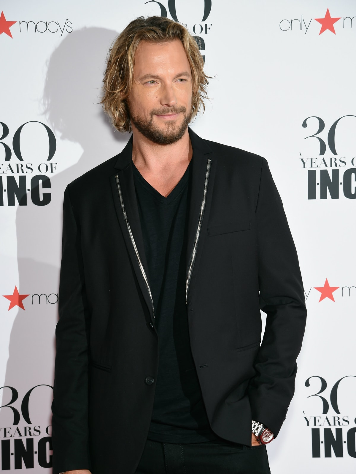 Gabriel Aubry at Macy's INC party at New York Fashion Week