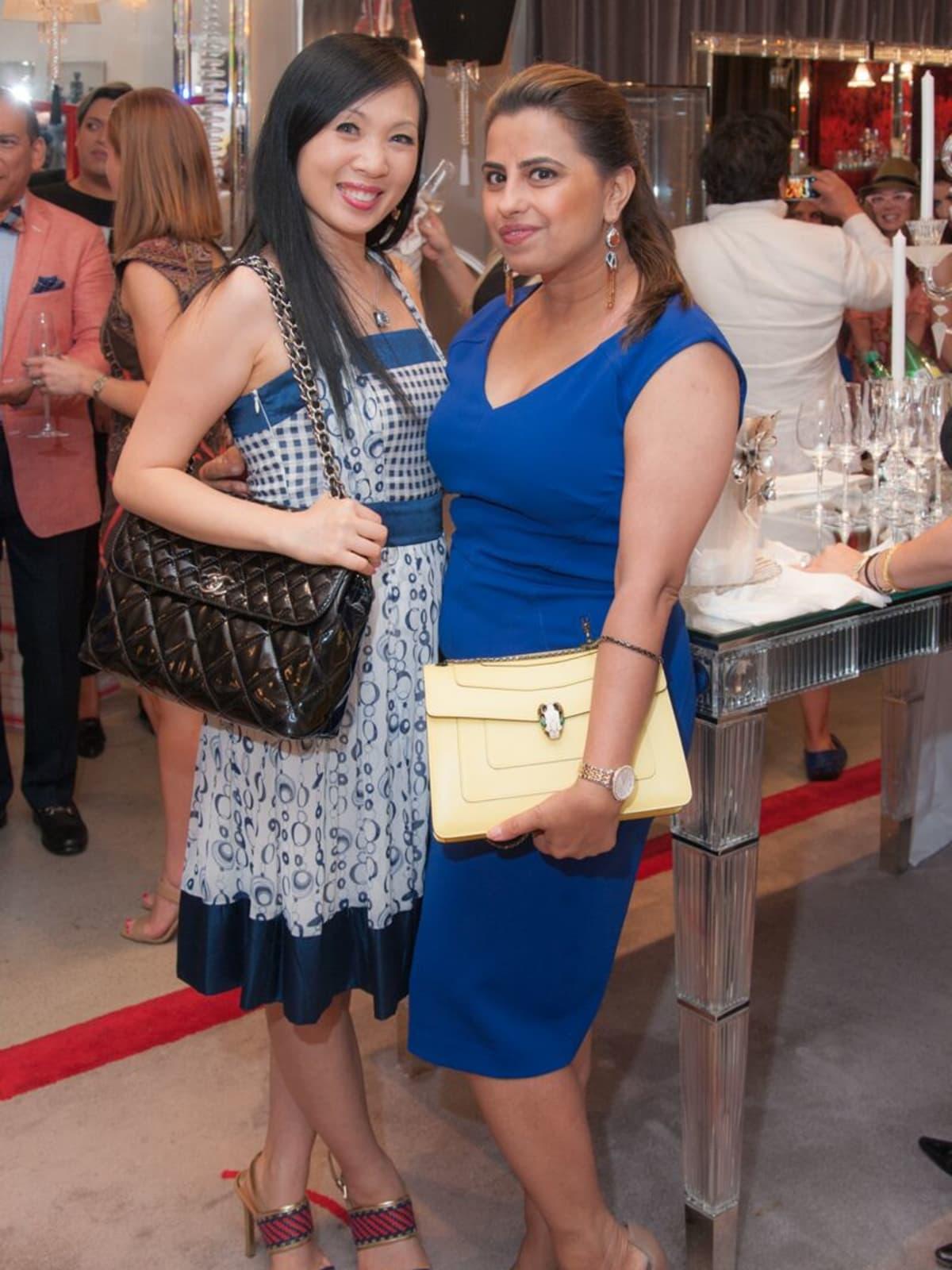 News, Shelby, Alex Martinez Back to School event, Aug. 2015, Connie Kwan-Wong, Ruchi Mukherjee