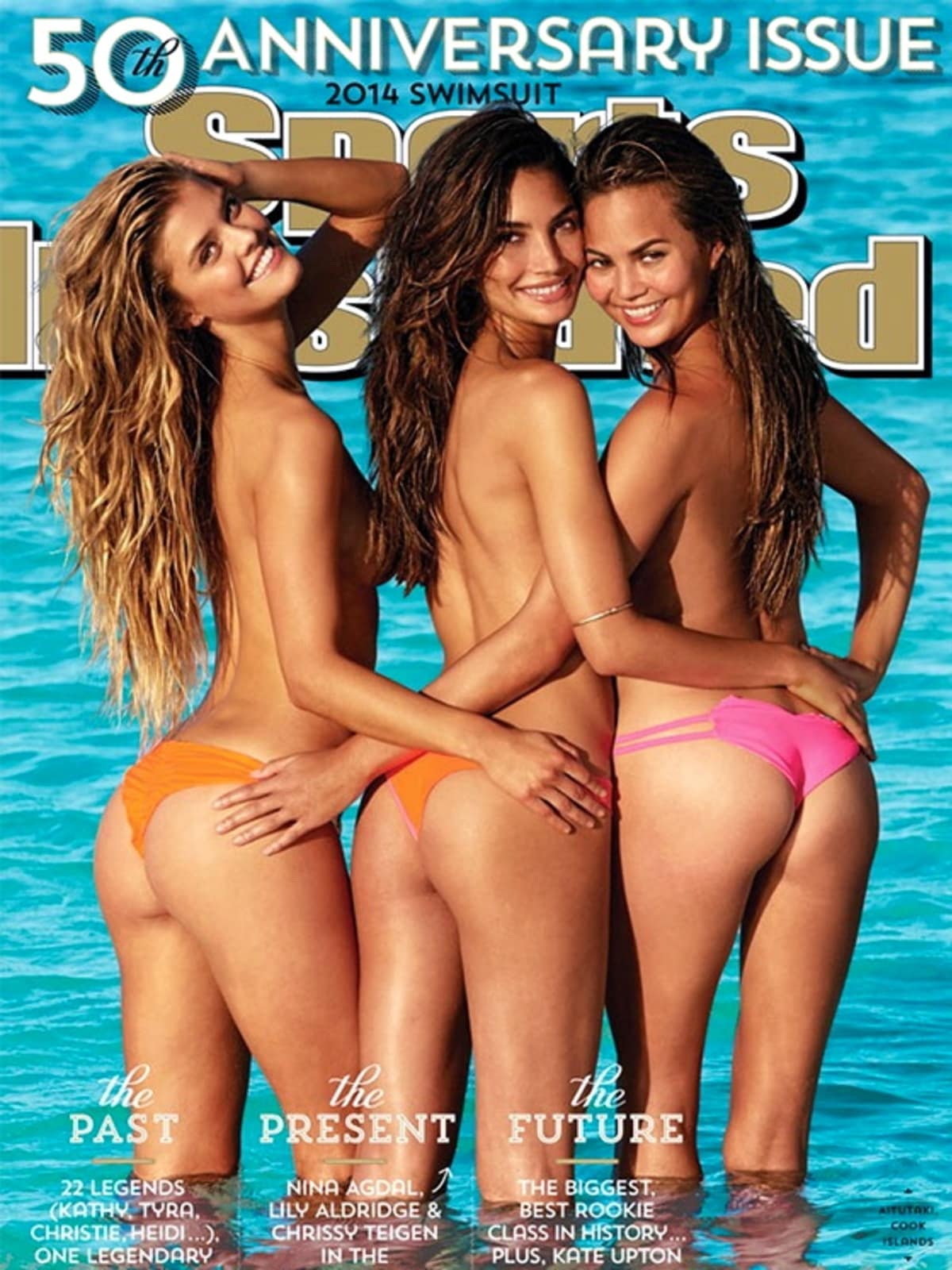 Houston, Chrissy Teigen, July 2015, 2014 Sports Illustrated Swimsuit cover