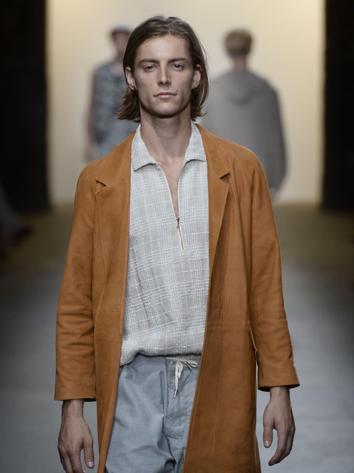 Billy Reid spring/summer 2016 runway show at New York Men's Fashion Week