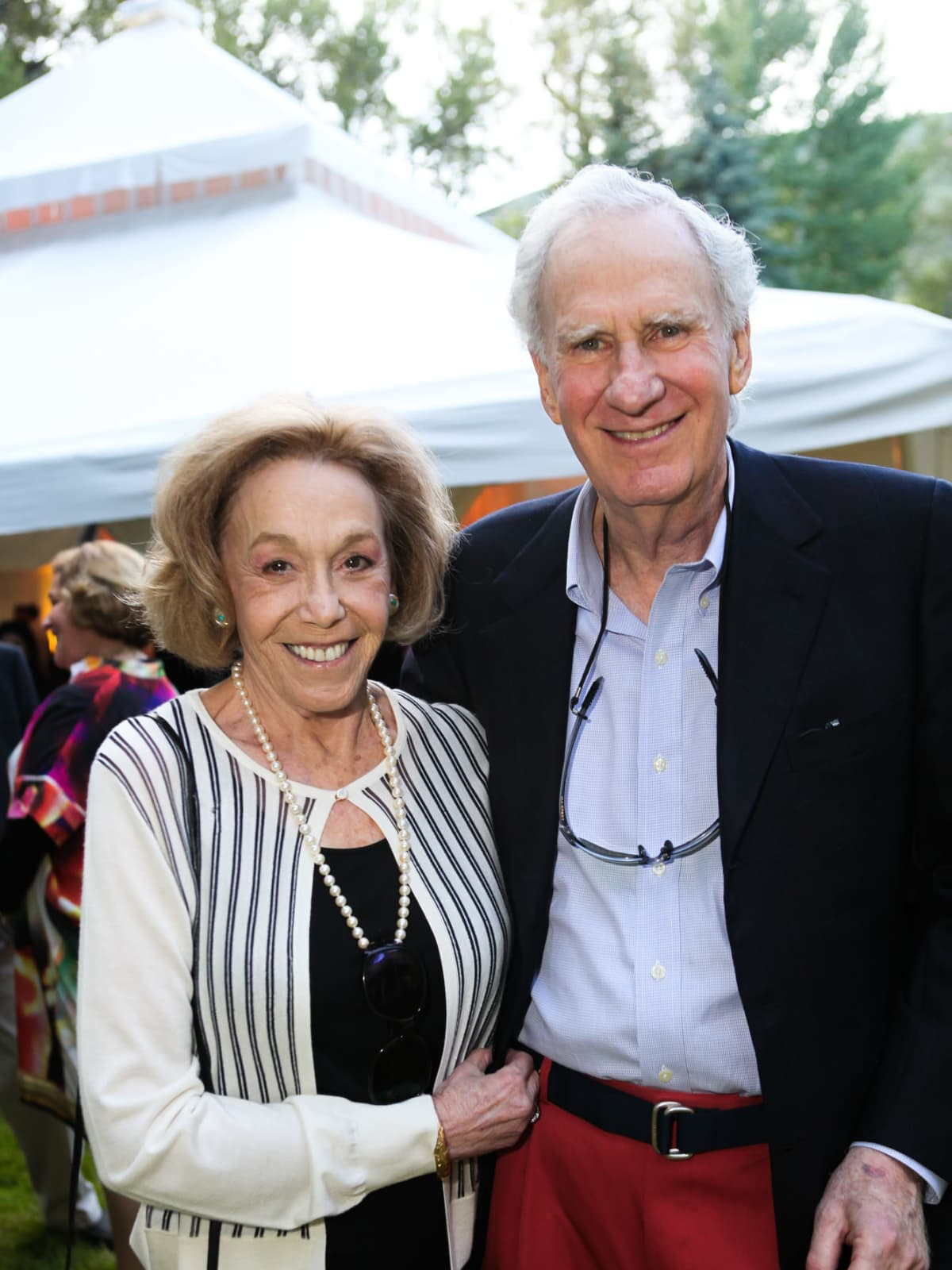 News, Shelby, M.D.Anderson in Aspen, July 2015, Ann and Alan Feld