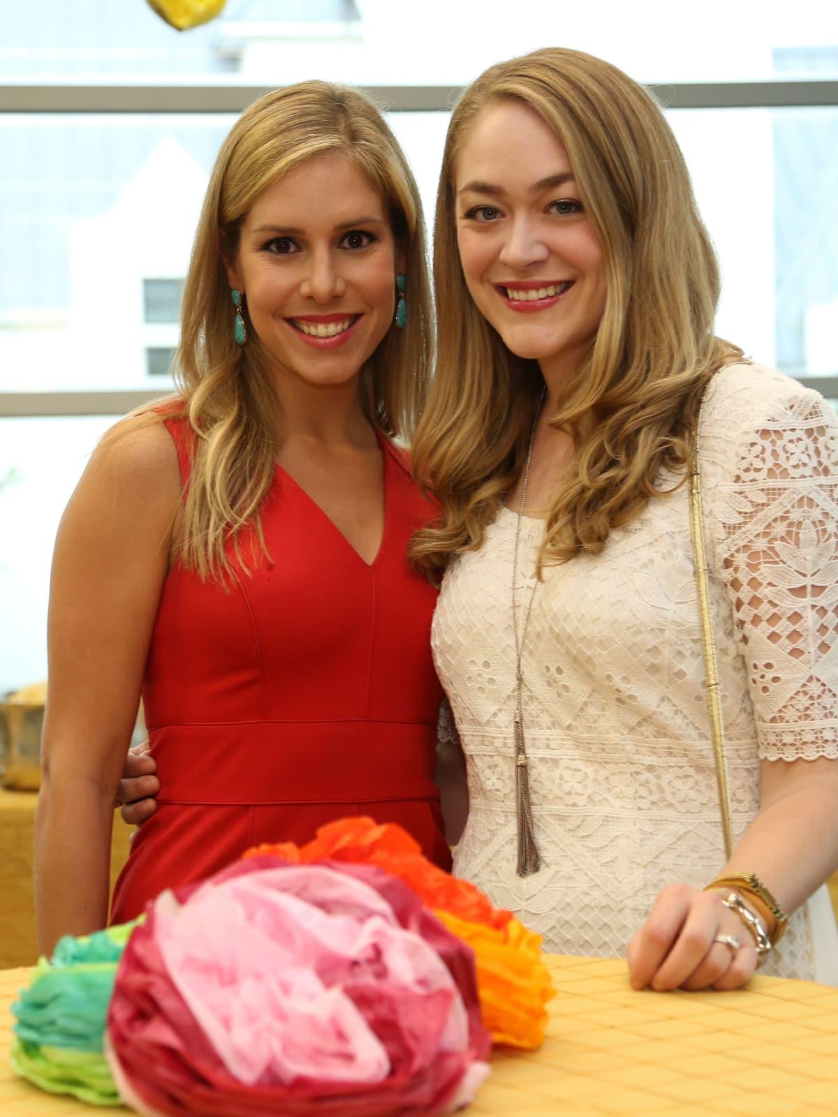 WOW Membership Fiesta 2015 Lauren Dupius, Paige Branam