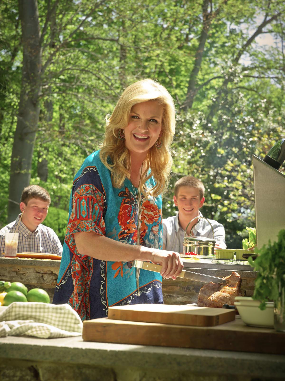 Trisha Yearwood cooking