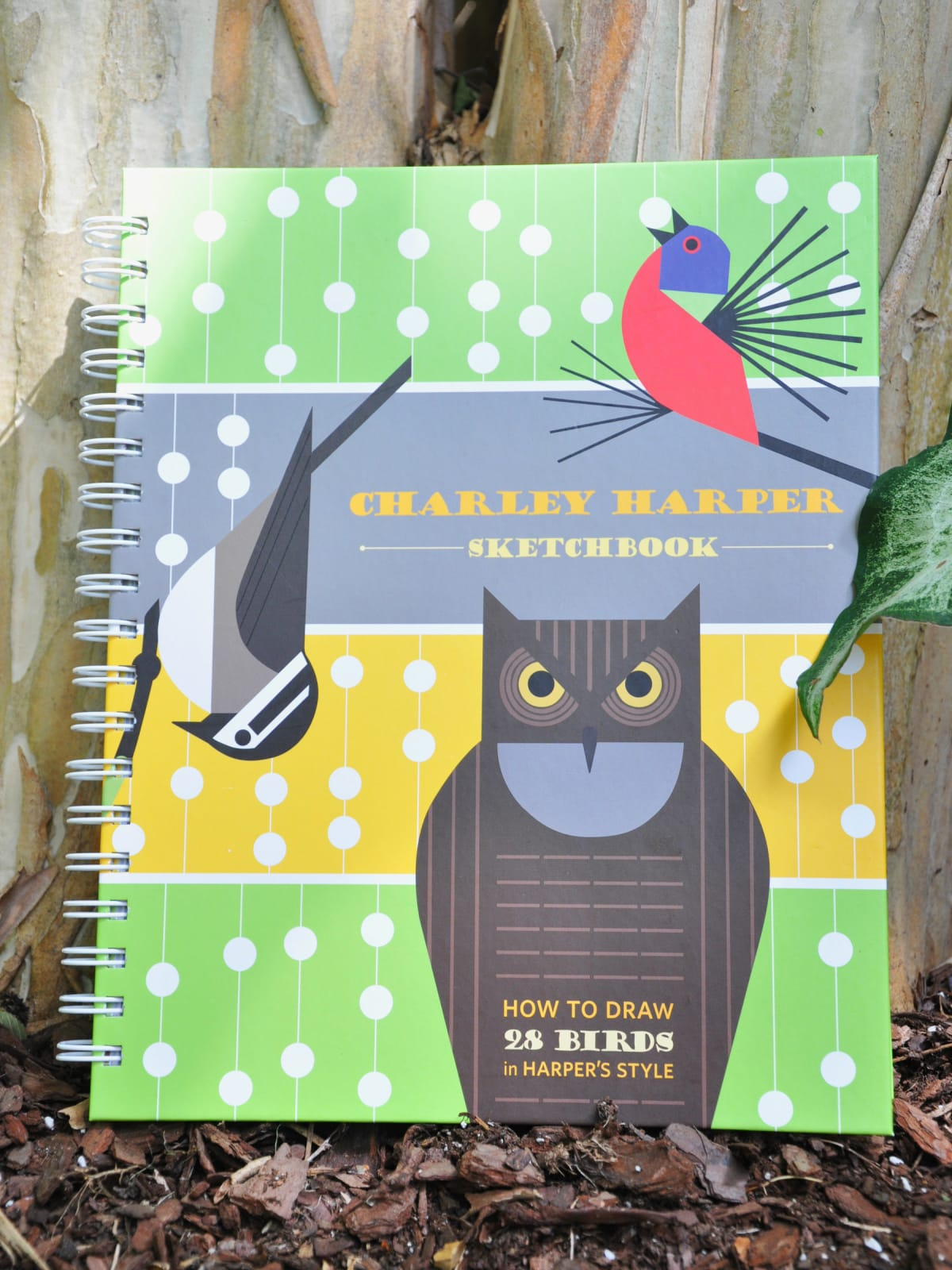 Charley Harper sketchbook