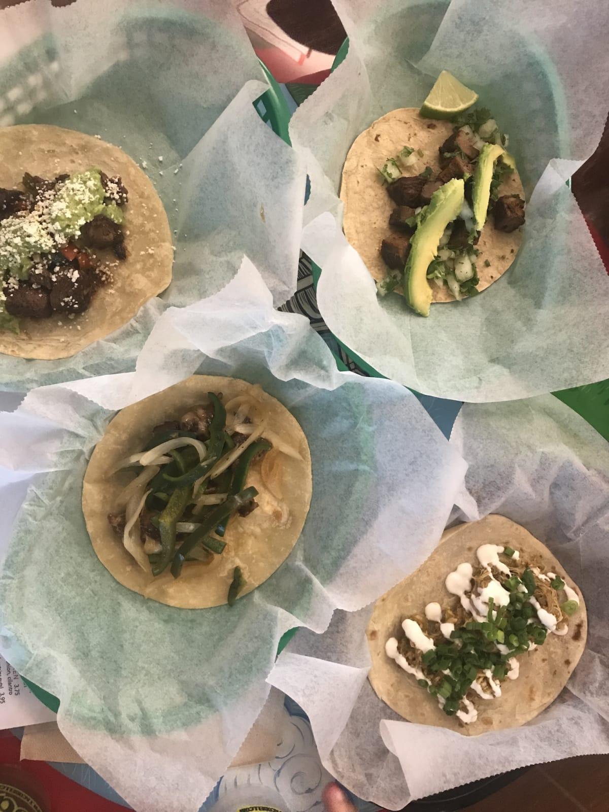 Tacodeli tacos