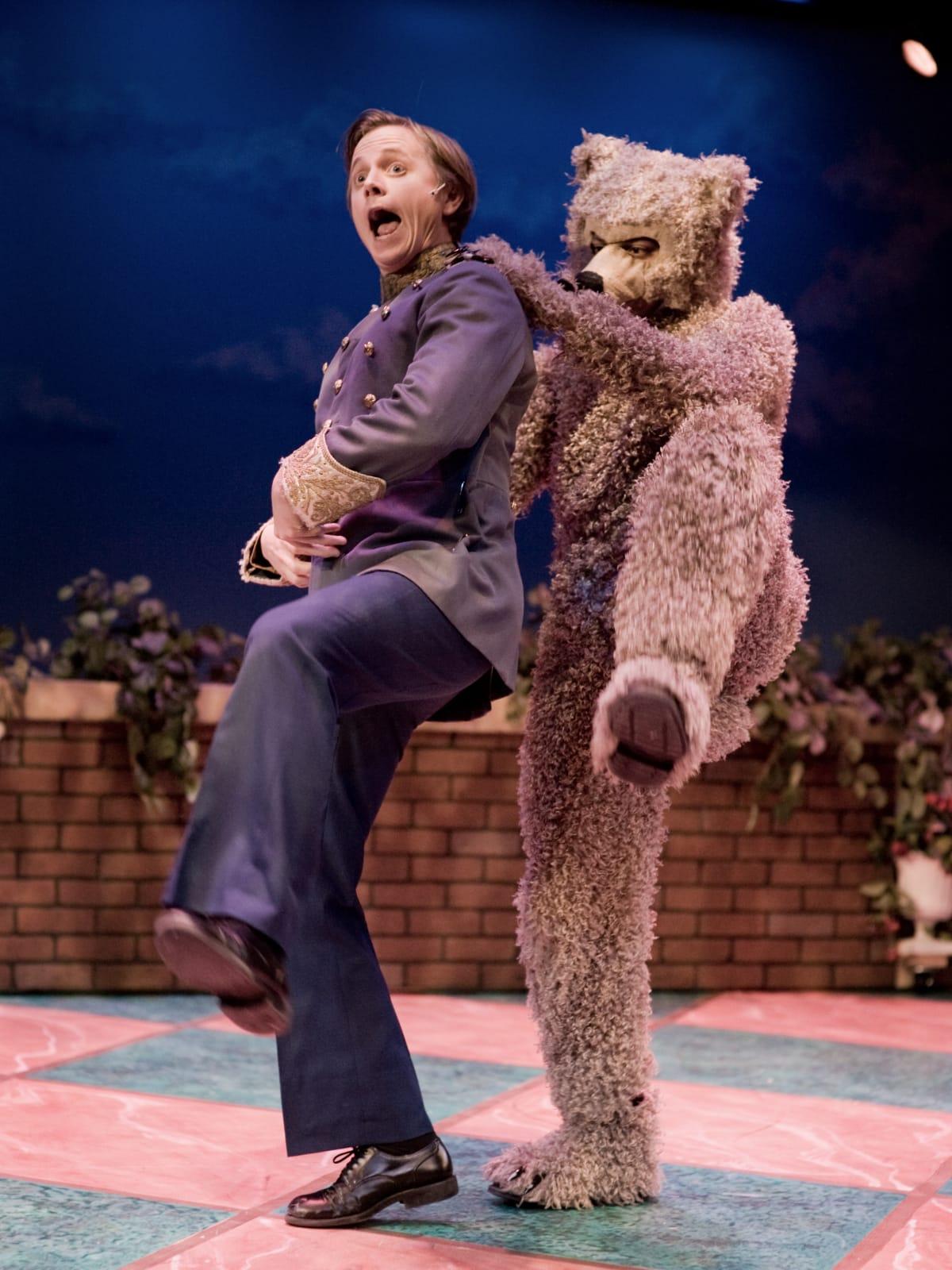 Stages Theatre-Panto Cinderella, Ryan Schabach and Carlos Salinas
